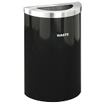 Glaro VALUE SERIES Half Round 16-Gallon Custom Color Waste Container