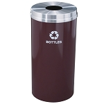 Glaro 16 Gallon Single Purpose Waste and Recycling Container