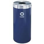 Glaro 12 Gallon Single Purpose Waste and Recycling Container