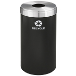 Glaro 23 Gallon VALUE SERIES Single Purpose Waste and Recycling Container