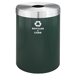 Glaro 41 Gallon VALUE SERIES Single Purpose Waste and Recycling Container