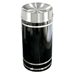 Monte Carlo Waste Receptacle with Tip Action Top