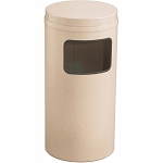 Mount Everest Waste Receptacle with Flat Top, 17 Gal