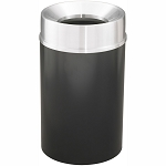 Mount Everest Waste Receptacle with Funnel-Top, 33 Gal