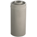Mount Everest Ash/Trash Receptacle with Donut Top, 16 Gal