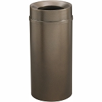Mount Everest Waste Receptacle with Funnel-Top, 16 Gal