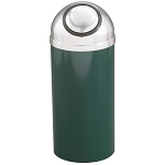 Mount Everest Waste Receptacle with Self-Closing Dome-Top, 8 Gal