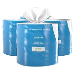 Alcohol-Free Sanitizing Wipes Roll (4 rolls per case)