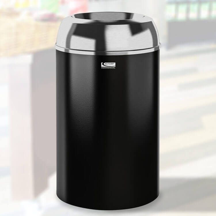 30 Gal   Round Indoor Trash Can   Trash Cans Warehouse