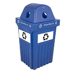 Recycle Bin IV Indoor-Outdoor Bin - Single