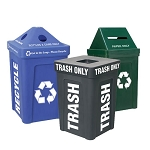 Recycle Bin I Triple Station