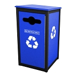 Keene Sideload Single Recycling Container