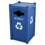 Dorset Sideload Single Recycling Container
