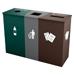 Claremont Triple Recycling Station