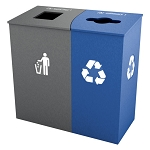 Claremont Double Recycling Station