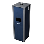 Sanitizing Wipe & Waste Station - 10 Gal - Custom