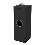 Slim Wipe & Waste Station in Black