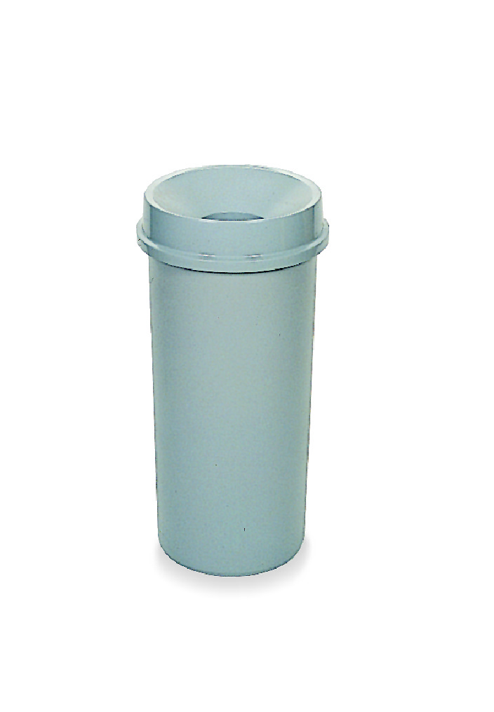 Tall Garbage Can Available In Round Half And Square Shapes To Fit Every