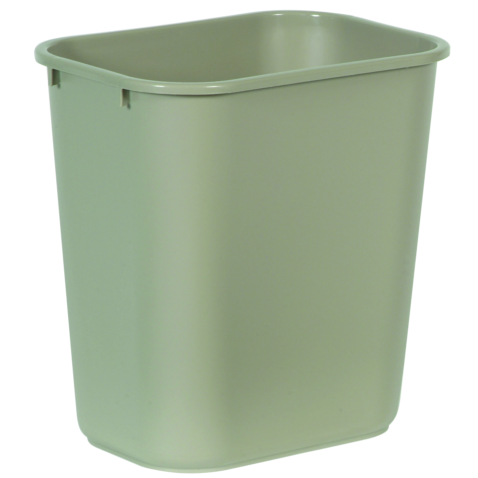 Waste Baskets Medium Deskside Waste Basket 28 18 Qt  Trashcans Warehouse