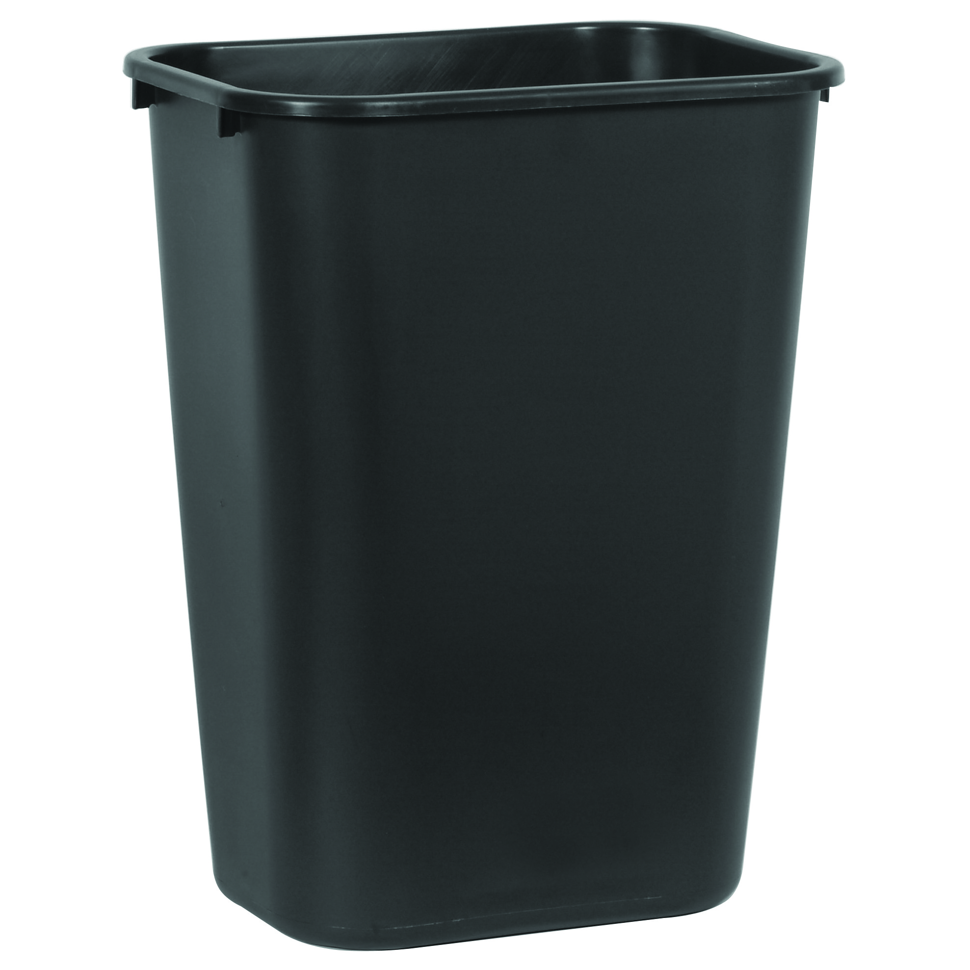 Waste Basket deskside wastebasket | desk trash can | plastic waste bin | trash