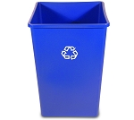 35-Gallon Square Recycling Container