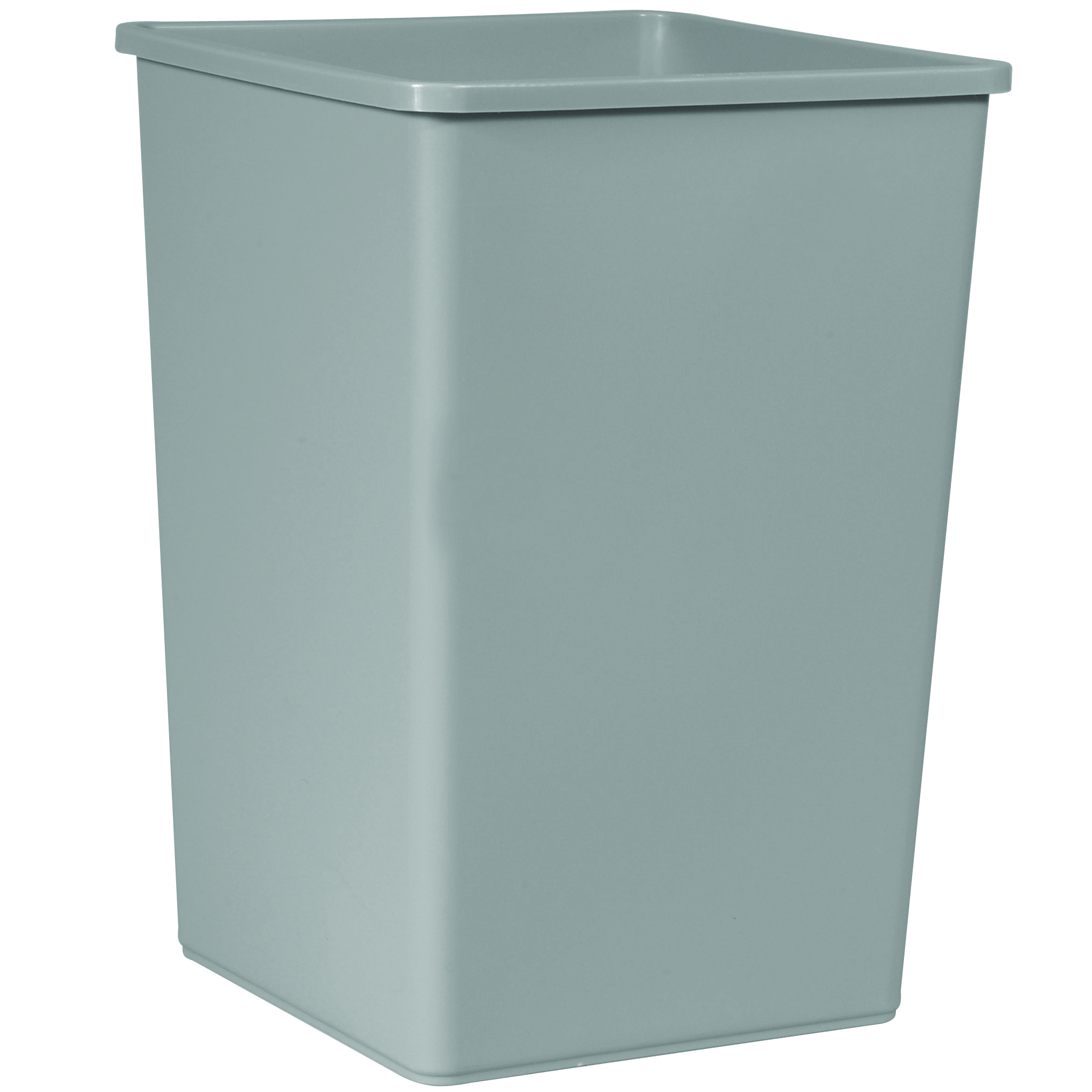35 Gallon Untouchable Square Trash Container Trashcans