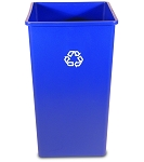 50-Gallon Square Recycling Container