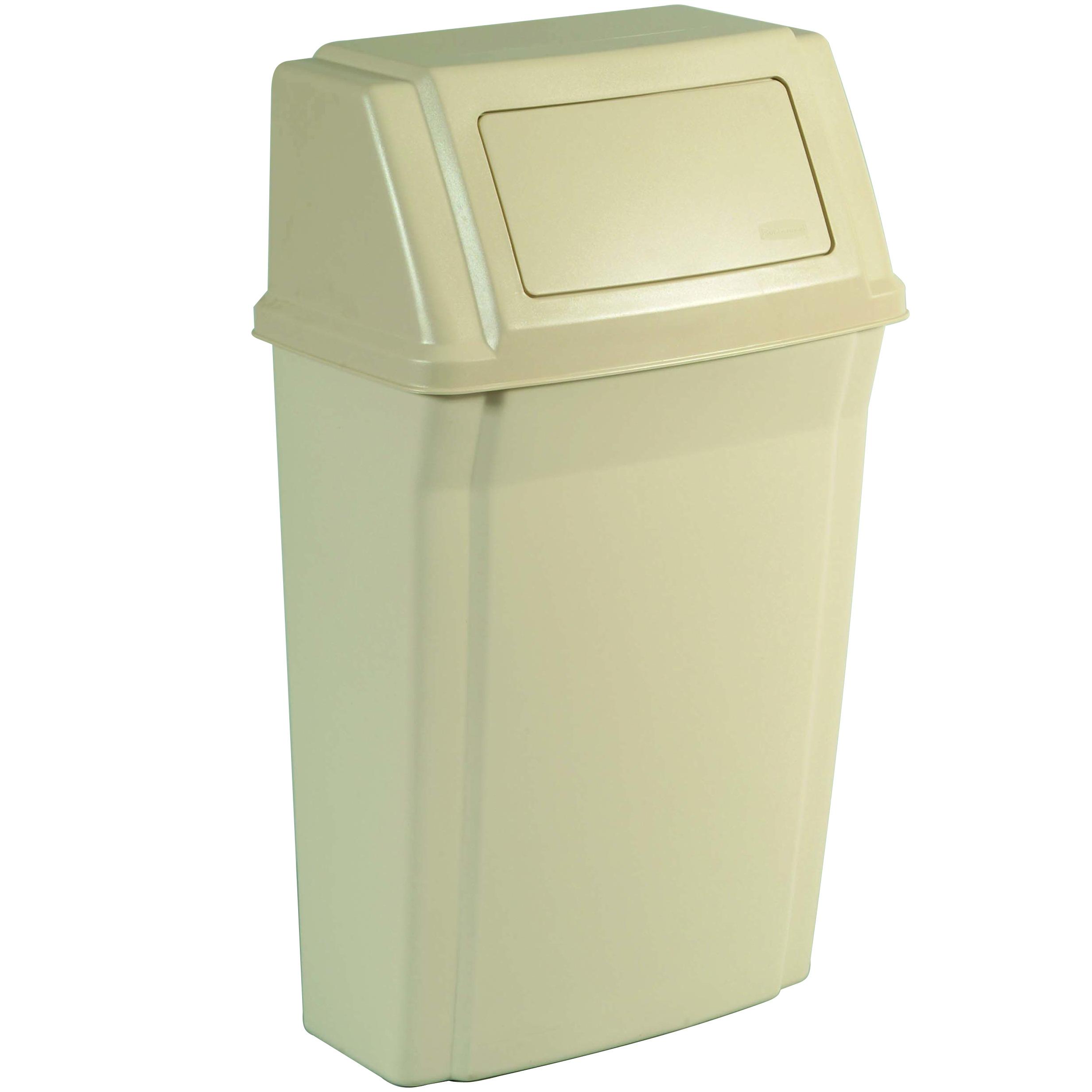 Wall Mount Trash Can Wall Mounted Waste Bin Slim Jim