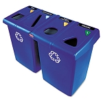 92-Gallon Glutton Recycling Station