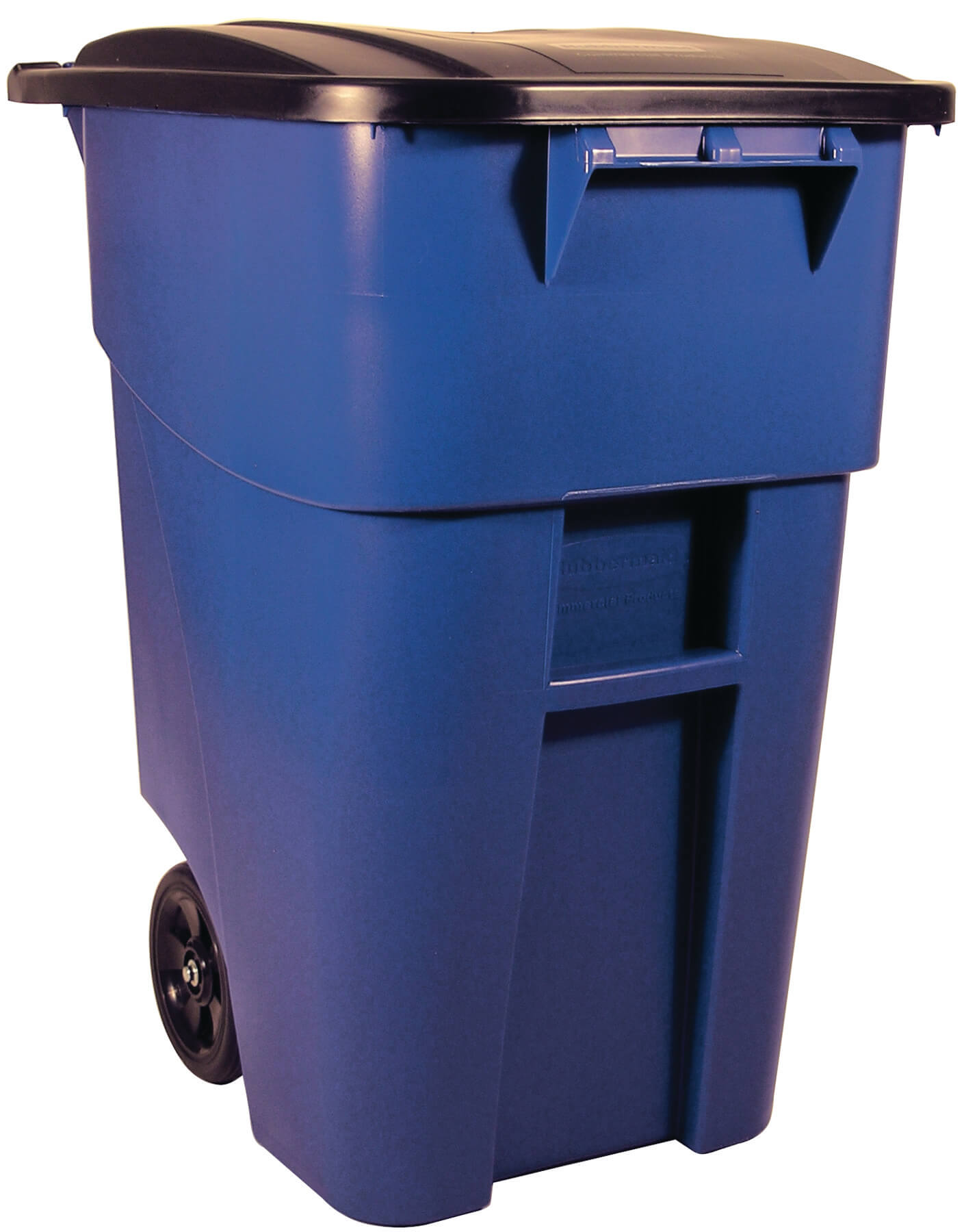 50 Gallon Brute Rollout Container With Lid Trashcans