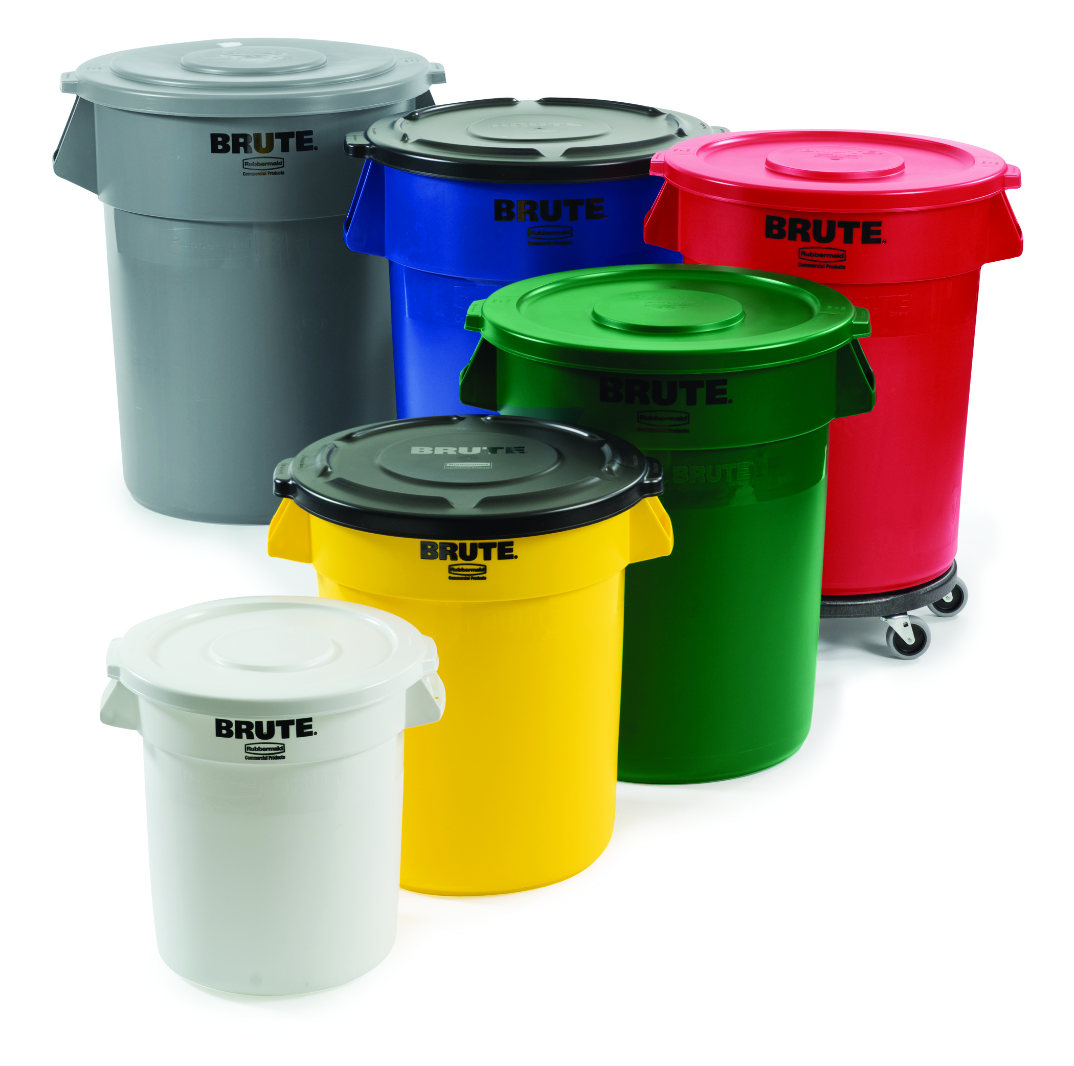 Rubbermaid 10 Gallon Brute Container Trashcans Warehouse