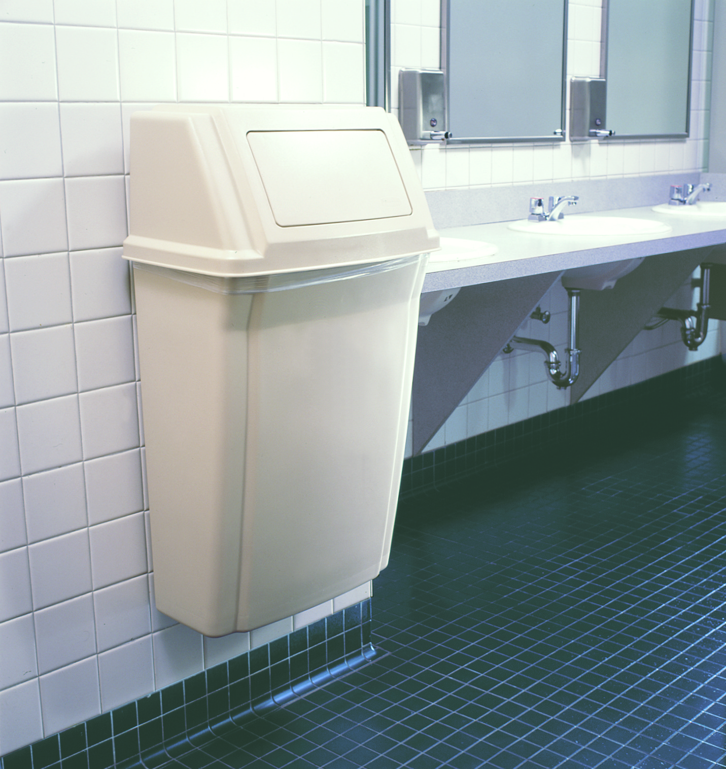 I Wonder If The Area Could Hold Rolled Up Recessed Solid Wood Bathroom In Wall Rack Trash Can Toilet Paper Holder Multipurpose Unit