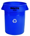 32-Gallon BRUTE Recycling Container
