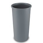 Tall Untouchable Series Round Trash Can