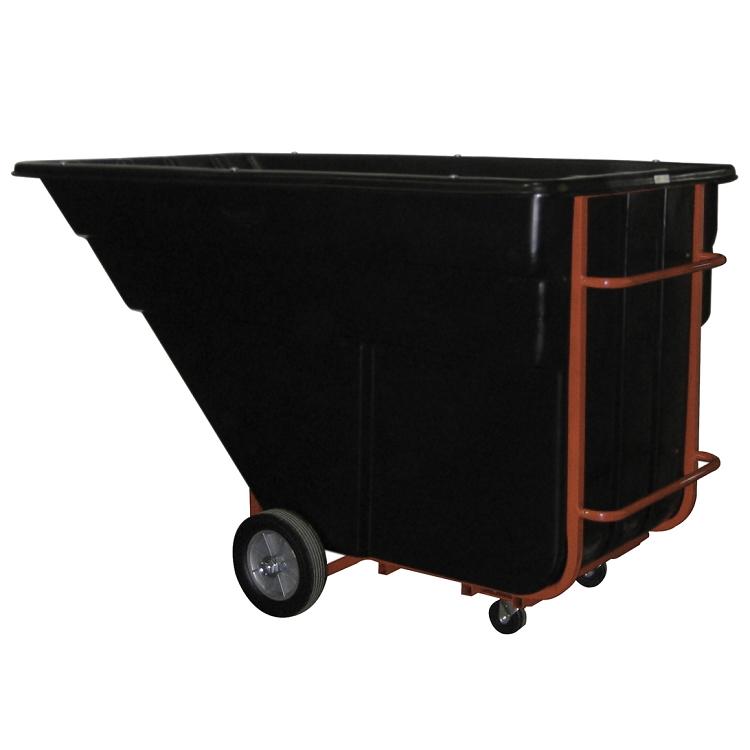 Utility Bucket 1 Cu Yard Rolling Rubbermaid Utility