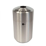 Envirospin Recycle Receptacle - 39 Gallon