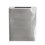Celestial Rectangular 40-Gallon Bin in Stainless Steel