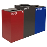 GeoCube Three-Stream Recycling Station