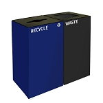GeoCube Two-Stream Recycling and Waste Station
