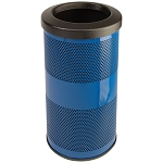 10-Gallon Perforated Waste Receptacle