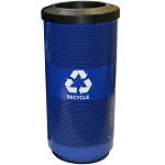 20-Gallon Perforated Recycling Receptacle