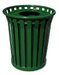 Wydman 24-Gallon Slatted Trash Receptacle