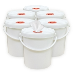 Bucket Wipe Dispensers | 6-Pack Bundle