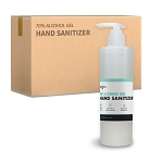 70% Alcohol Gel Hand Sanitizer | 12 Bottles/Case