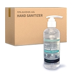 70% Alcohol Gel Hand Sanitizer | 45 Bottles/Case