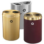 Glaro Dual Purpose Waste and Recycling Containers