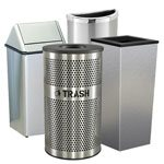 Indoor Stainless Steel Trash Cans
