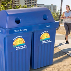 New Outdoor Waste and Recycling