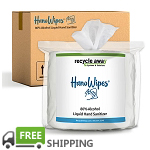 HanoWipes 80% Alcohol Hand and Surface Wipes | Case of 4