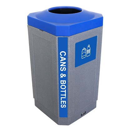 The Octo 32 Gallon Indoor Recycling Bin